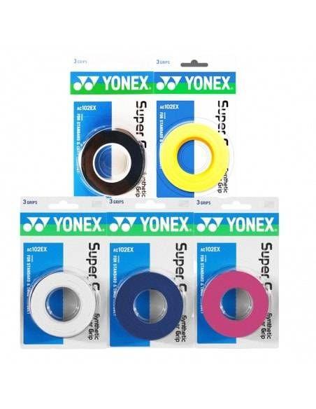 Overgrip Yonex Super Grap x3