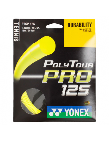 Corda Yonex Poly Tour Pro 125